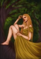 Tree Elf by starparticles