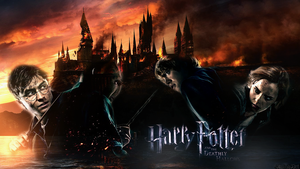 Harry potter wallpaper by StylishArt94
