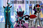 Darkness Is Here Mephiles, Chrysalis, and Sombra by CyrilSmith