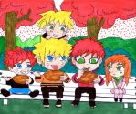 Uzumaki Family by papalotl25