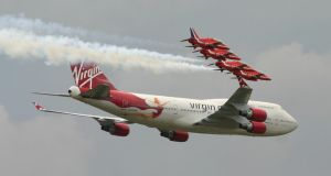 virgin 747 and the reds 4 by Sceptre63