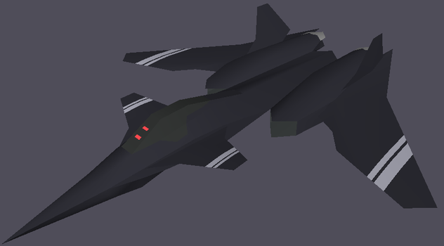 Cyrus Stealth Fighter by moon-child-reo