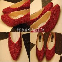 Not In Kansas Ruby Slippers by Opheliac-In-Me