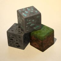Minecraft Blocks by conniekidd