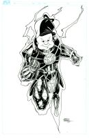 Elmer Fudd Orange Lantern Inks by seanforney