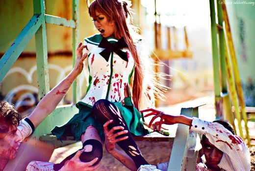 highschool of the dead 2 by abbottw