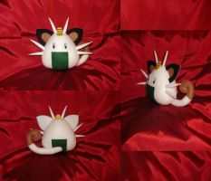 Pokelith - Meowth by merlinemrys