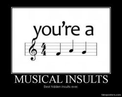 Musical insults by XxDBZCancucksFanxX