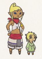 Tetra and Finn by BeagleTsuin