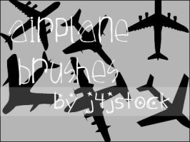 Plane Brushes by j4jstock