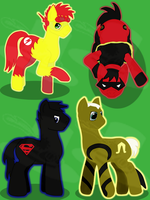 Young Pony Justice by ms-manuscript