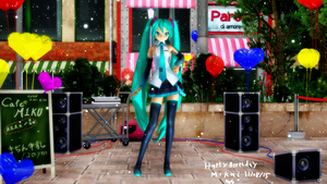 Miku's 8th birthday! by 93XG