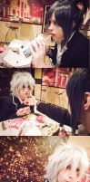 Nezumi and Shion - Lunch Time by oishii-tomato