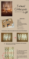 Tutorial : Clothespins Light by sarya-atelier