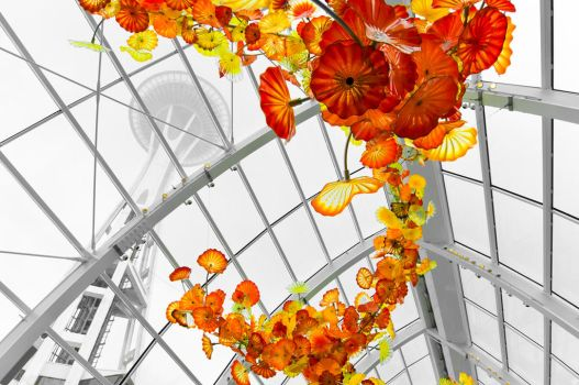 Chihuly Space Needle by OEMminus