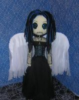 Gothic Angel Rag Doll by Zosomoto