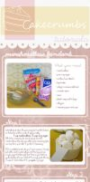 Tutorial: Marshmallow Fondant by cakecrumbs