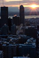 Sunrise of Montreal by Khristel
