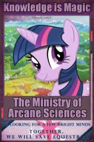 [Poster] FoE:The Ministry of Arcane Sciences by WmSonee