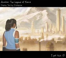 "Korra ""cosplay"" by Cristophine"