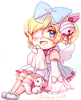 Gaia::Cutesu chibi by magicalondine