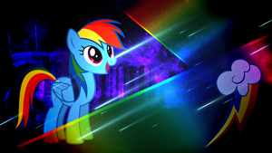 Starlight Series - Rainbow Dash by Meteor-Venture