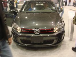 VW GTI at the Auto Show by LittleBigDave
