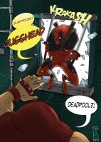 Deadpool Surprise  dialogue by cjcenteno