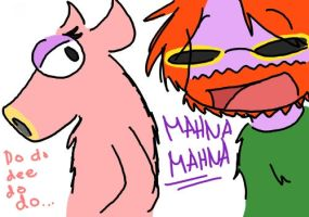 Muppets - Mahna mahna by zombiebiscuit