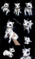 Poseable Baby Unicorn by Ideationox