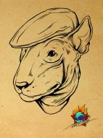 bullterrier by Pioneer-Art