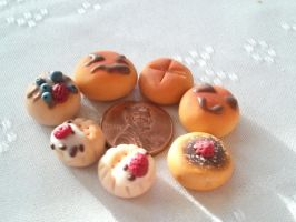 New miniature bakery items by yachumichan77