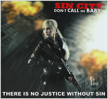 Don't call me baby  (sin city) by ainedesign