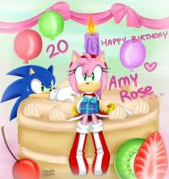 Happy 20th Birthday AMY! by DanielasDoodles