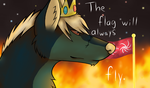 The Flag Will Always Fly by leafclan99