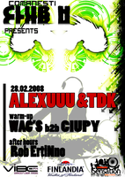 Alexuuu and TDK - CLUB H by eQinoXx
