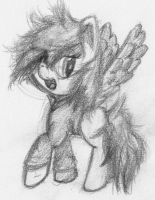 OC Pone Sketch by TimeForSP