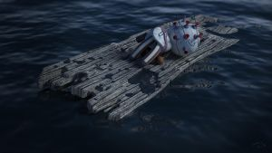 Lost at sea by rocneasta