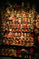 Venetian Mask Stall by gdphotography