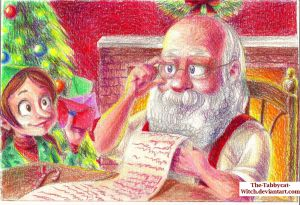 Christmas challenge days 2 and 3 by The-Tabbycat-Witch