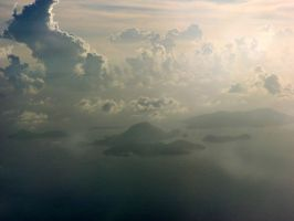 View from the plane 2 by polanri-stock