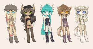 Adoptables (lingerie) #3 CLOSED by Siraviena