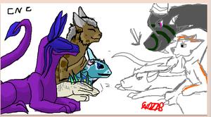 one day on iscribble by niviadragonrider