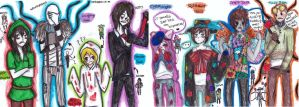 All creepypasta XDXD by NENEBUBBLEELOVER