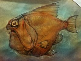 Golden Puggle Fish by jwize