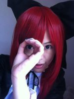 Pose that Erza Scarlet will never do I by takkeaya