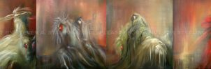 Four Horsemen - Oil by sanouske