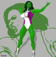 She-Hulk: Nothing You Can Say by hotrod5