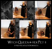 Witch Queen and her Pet 2 by Mithgariel-stock