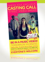 Webbanner: Casting Call by angelaacevedo